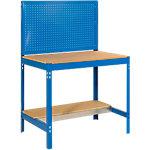 Banco de trabajo Azul 120 x 60 x 150 cm