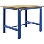 Banco de trabajo Simonrack azul, haya 150 x 75 x 84 cm