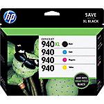 Cartucho de tinta HP original 940xl negro & 3 colores c2n93ae 4 unidades