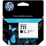 Cartucho de tinta HP 711, Original, Tinta a base de pigmentos, Negro, HP, Designjet T120, T520, 1 pieza(s) CZ133A