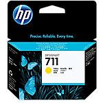 Cartucho de tinta HP 711, Original, Tinta a base de pigmentos, Amarillo, HP, HP Designjet T120, T520HP Designjet T120, T520, Impresión por inyección de tinta CZ132A