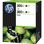 Cartucho de tinta HP original 300xl negro d8j43ae 2 unidades