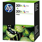 Cartucho de tinta HP 301XL 2 pack Tri color Original Cian, Magenta, Amarillo Multipack 2 pieza(s) D8J46AE