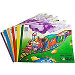 Cuaderno de manualidades Grafoplás Selvi cartulina de colores colores surtidos 24 (a) x 32 (h) cm