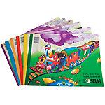 Cuaderno de manualidades Grafoplás Selvi papel de seda colores surtidos 24 (a) x 32 (h) cm