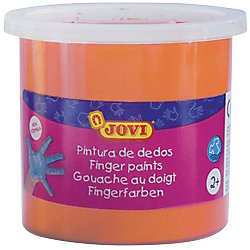 Pintura de dedos JOVI lavable naranja