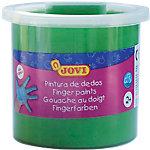 Pintura de dedos JOVI lavable verde