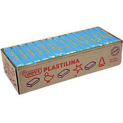 Plastilina JOVI azul claro 14 2 x 2 6 cm