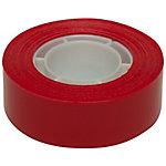 Cinta adhesiva APLI rojo polipropileno 1,9 cm