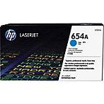 Tóner HP 654A Cyn Contract LJ Toner Cartridge, 15000 páginas, Cian, 1 pieza(s) CF331AC