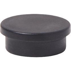 Imán Niceday negro 2 x 2 cm 10 unidades