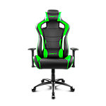 Silla gaming DRIFT DR400 negro, verde, blanco