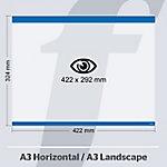 Sistema de fijación PosterFix azul 42,2 x 32,4 cm 5 unidades