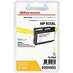 Cartucho de tinta Office Depot compatible hp 933xl amarillo cn056e