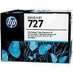 Cabezal de impresión HP original 727 cian, gris, magenta, negro mate, foto negro, amarillo b3p06a