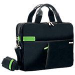 Maletín para portátil Leitz Smart Traveller 13 pulgadas 37 x 7,5 x 27 cm negro