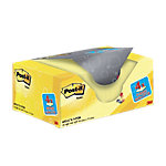 Notas adhesivas Post it 38 x 51 mm amarillo 20 unidades de 100 hojas