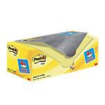 Notas adhesivas Post it 76 x 76 mm amarillo 20 unidades de 100 hojas