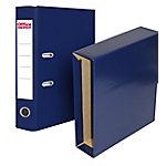 Archivador con cajetín Office Depot Folio azul
