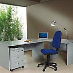 Mesa operativa de oficina gris 1.600 x 800 x 720 mm