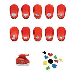 Perforadora de formas Grafoplás Goma Eva Flor rojo 5 cm