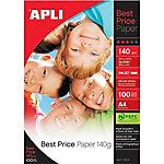 Papel fotográfico APLI 11804 A4 brillante 180 g
