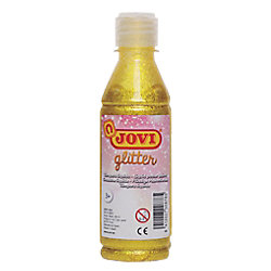 Témpera líquida JOVI Glitter amarillo
