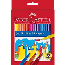 Rotulador de dibujo Faber-Castell 554224 colores surtidos 24 unidades
