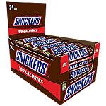 Barra chocolate con leche Snickers 24 unidades