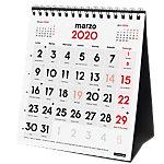 Finocam calendario sobremesa 2020 números grandes 15 x 14 cm