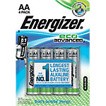 Pila alcalina Energizer Eco Advanced AA 4 unidades