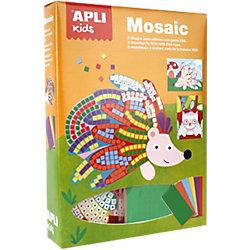 Mosaico APLI Animales colores surtidos goma eva