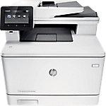 Impresora multifunción 4 en 1 HP LaserJet Pro M477fdw color láser a4