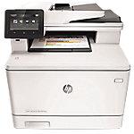 Impresora multifunción 4 en 1 HP LaserJet Pro M477fnw color láser a4