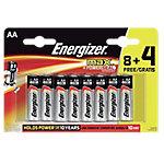 Pila alcalina Energizer AA 12 unidades