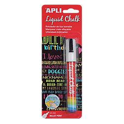 Rotulador de tiza borrable APLI Liquid