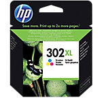 Cartucho de tinta HP Original 302XL 3 Colores F6U67AE