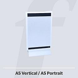 Expositor sobremesa PosterFix 1 cara negro A5 Vertical plástico