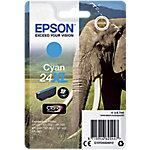 Cartucho de tinta Epson original 24xl cian c13t24324012