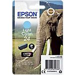 Cartucho de tinta Epson original 24 cian claro c13t24254012