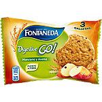 Galleta FONTANEDA Digestive con manzana y avena 24 unidades
