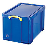Caja de almacenaje Really Useful Boxes polipropileno 44 (a) x 38 (h) x 71 (p) cm Azul