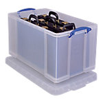 Caja de almacenamiento Really Useful Boxes Transparente polipropileno 44 (a) x 71 (p) x 38 (h) cm