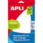 Etiqueta autoadhesiva APLI 2,2 x 1,6 cm blanco 420 unidades