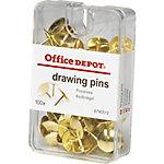 Chincheta Office Depot dorado 100 unidades