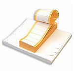 Etiqueta impresora matricial APLI Blanco 88,9 (a) x 23,3 (h) mm 12000 etiquetas por paquete
