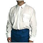 Camisa manga larga velilla poliéster talla m azul