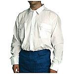 Camisa manga larga velilla poliéster talla m blanco