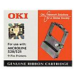 Cinta para impresora OKI , ML 520 ML 521, Negro, 4000000 caracteres, Negro, OKI 09002315