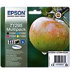 Cartucho de tinta Epson Original T1295 Negro, Cian, Magenta, Amarillo C13T12954012 4 unidades